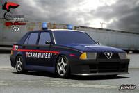 Alfa 75 Carabinieri