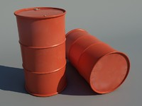 barrel new 3d model