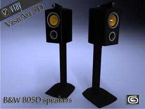 speaker b w max