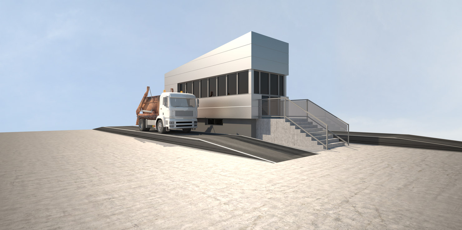 3d model control house
