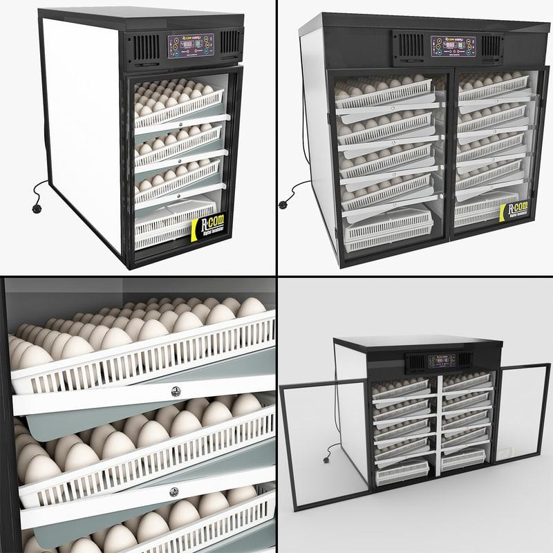 3ds max egg incubators