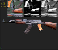 Free 3D Ak-47 Models | TurboSquid