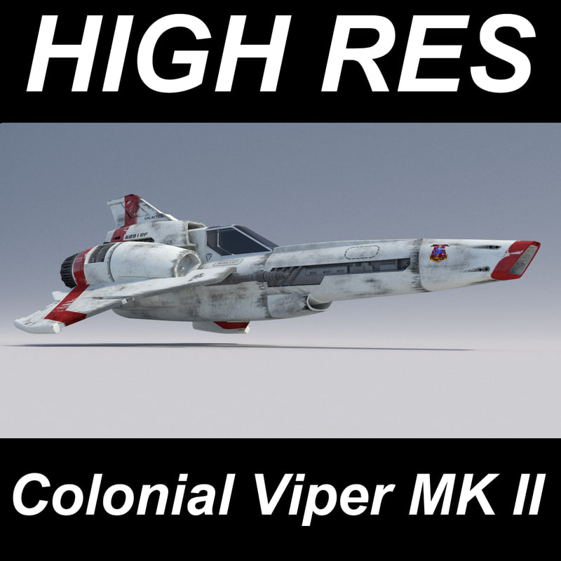 viper mk ii 3d model
