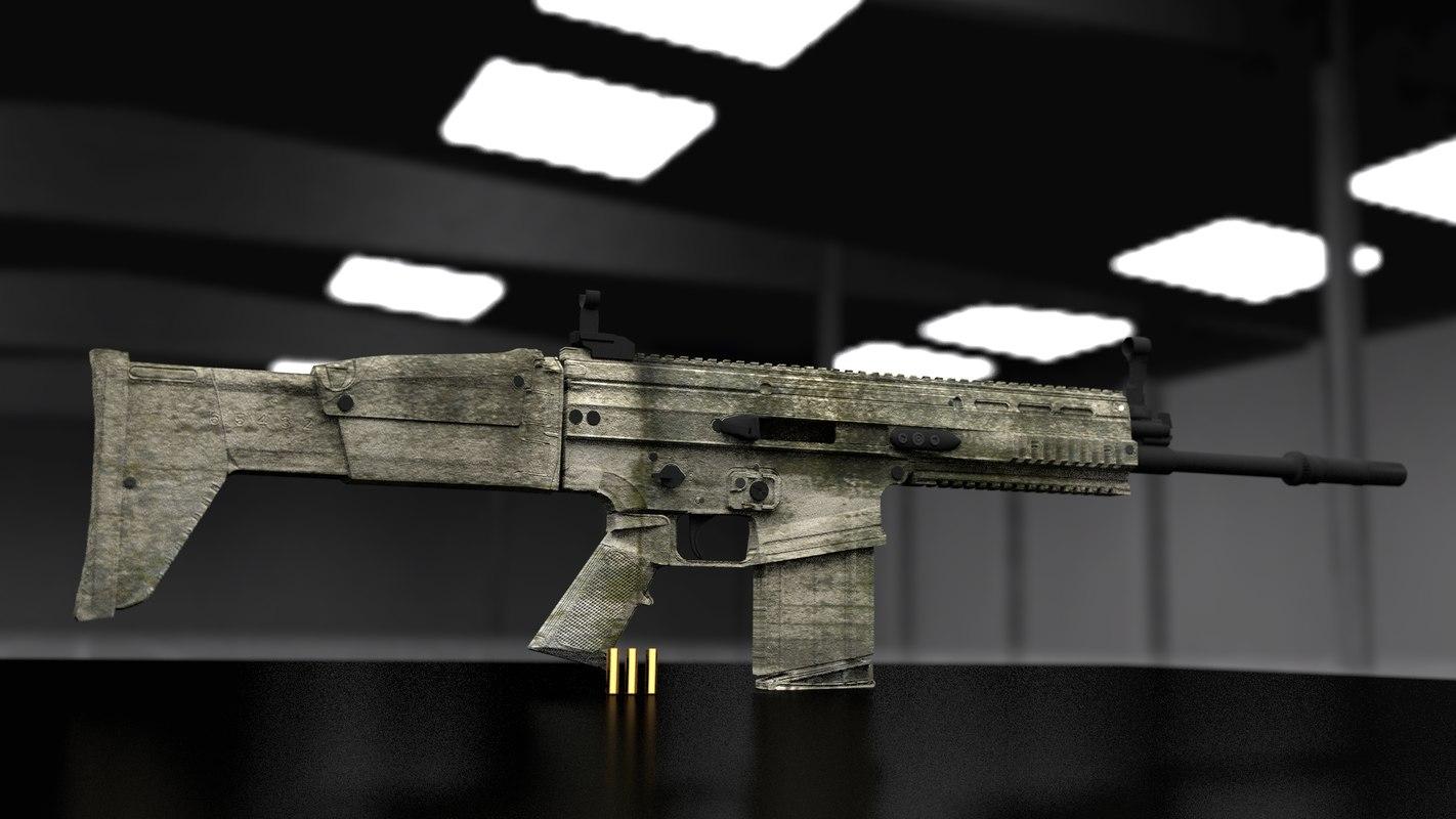 3d model scar-h