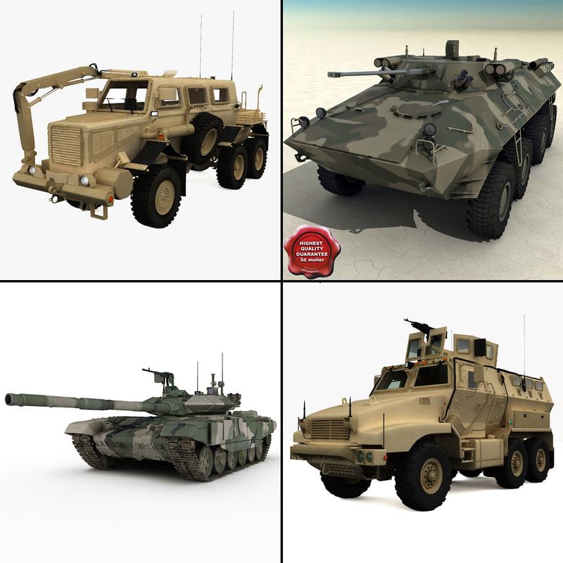 tanks v2 3d max