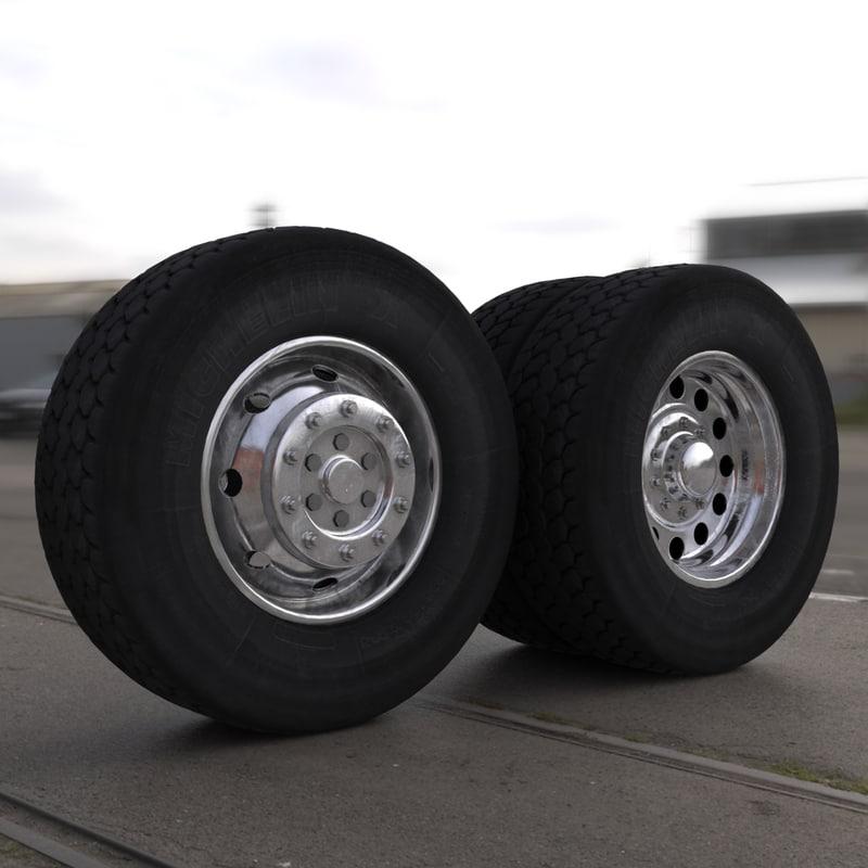 semi truck wheels max