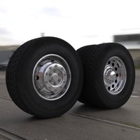semi truck wheels max