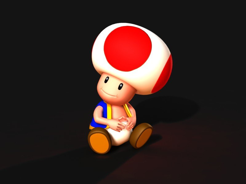 3dsmax toad video character