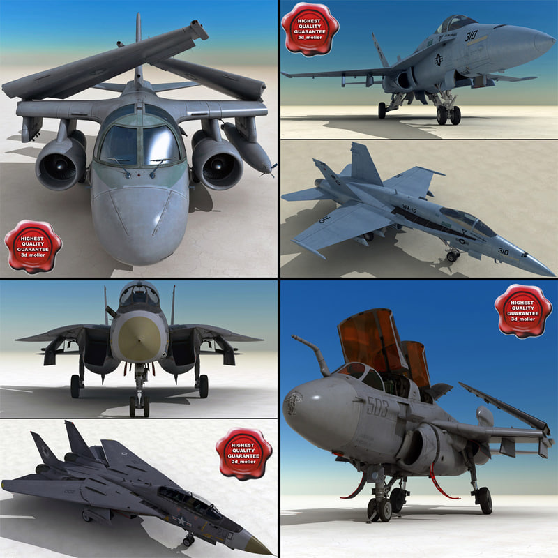 navy airplanes 3ds