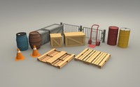 Warehouse Equipment pack