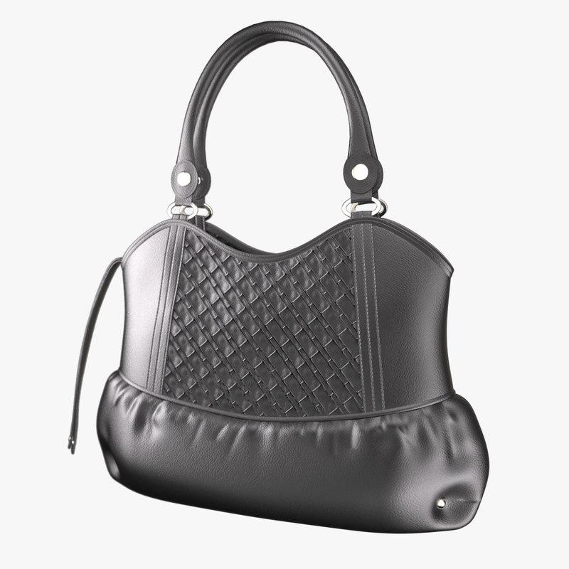 3ds max handbag totebag