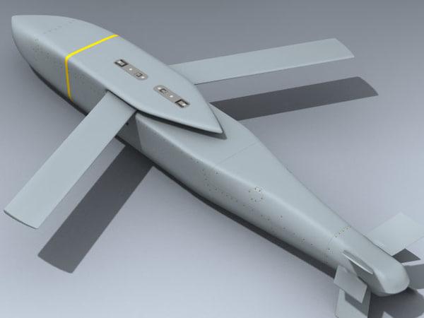 3d weapon navy model