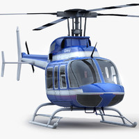 Bell 407 Blue