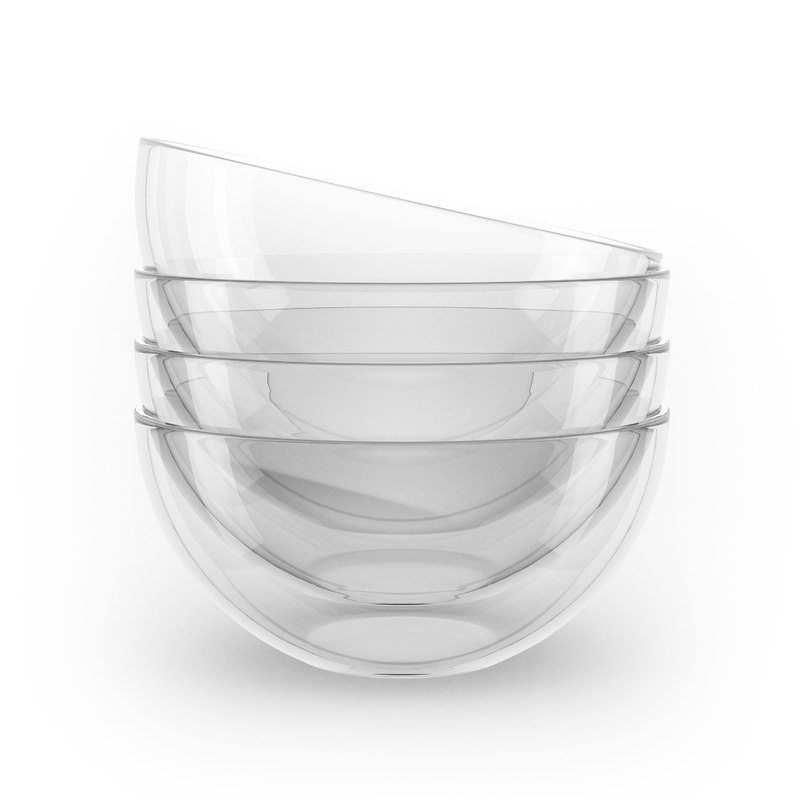 glass bowl 3d model