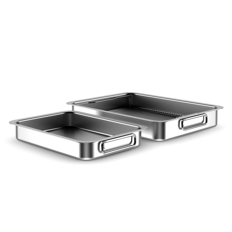 3d model of baking dish