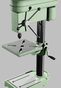 drilling machine power 3d model