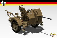 lightwave flak 38 gun