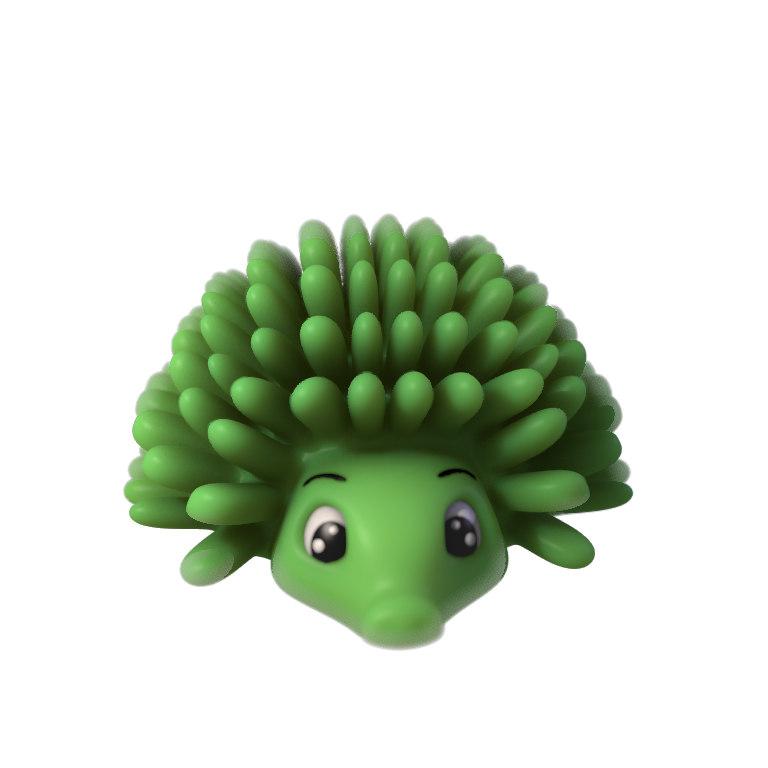 obj hedgehog toy