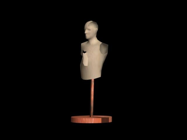 3ds max creepy manikin
