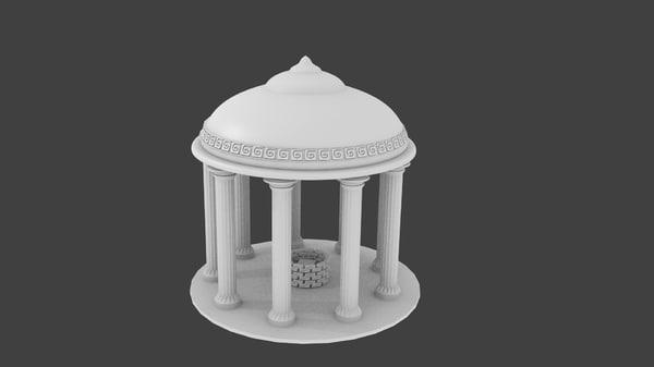 3d model greek oracle