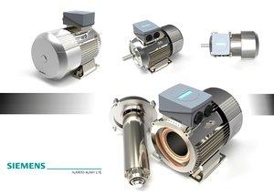 3d model siemens motor