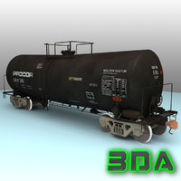3ds max t104 tank car rail