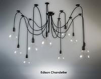 max edison chandelier
