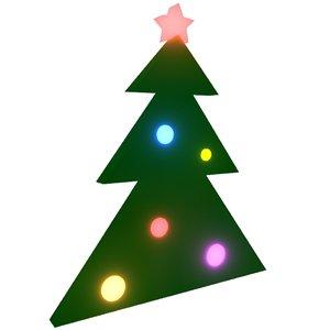 3d max christmas tree loader