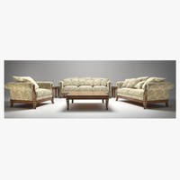 Angelo Cappellini Living Room Set Croce
