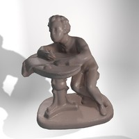 maya statue poet
