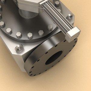 3d flow valve -