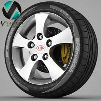 Wheel Kia 2
