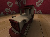 3ds max toy car
