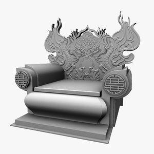 maya chinese throne chair 1