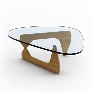 herman miller noguchi coffe table 3d max