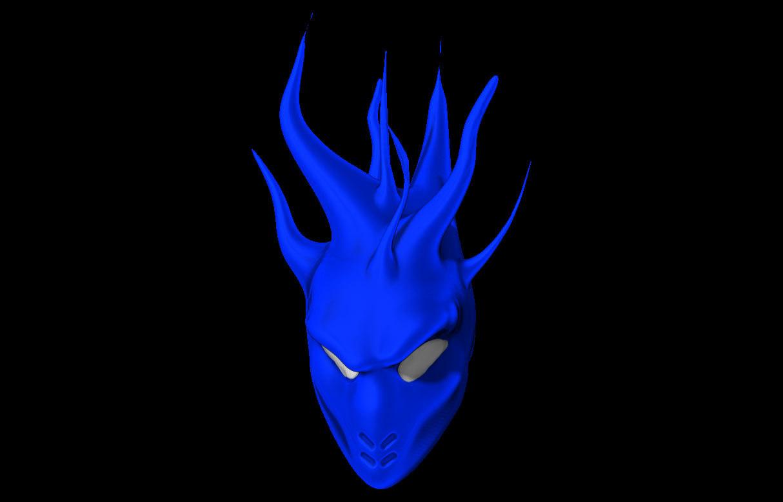 demon flaming logos 3ds