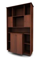 3ds max bookcase