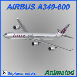 airbus a340-600 3ds