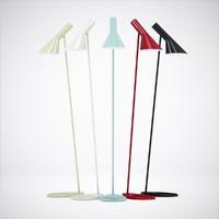 3d model arne jacobsen royal lamps