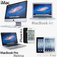apple electronics 2012 2 3d max