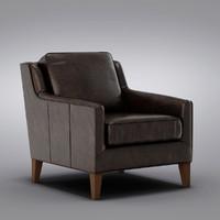 Pottery Barn - Arlington Leather Armchair