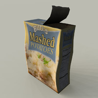 Beatup Box of Mashed Potatoes
