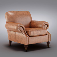 Pottery Barn - Brooklyn Leather Armchair