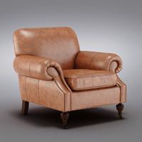 Pottery Barn - Brooklyn Leather Armchair