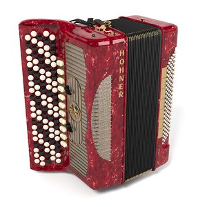3d model button accordion