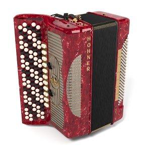 3d model button accordion