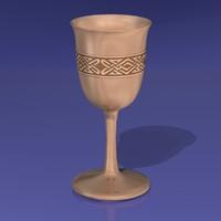 goblet 3d model