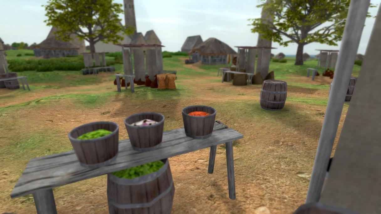 medieval market 3ds