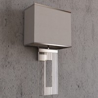 Porta Romana Square Perspex Wall Light MWL/02