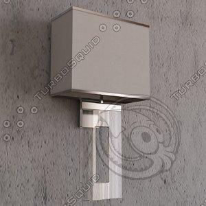 3d porta romana square perspex model
